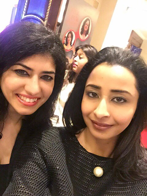 with @Swats26 at the #DigitalWomenAwards @SheThePeopleTV #femalefounders both @Kalaari @VaniKola portfolio companies https://t.co/4CBGbRTjg7