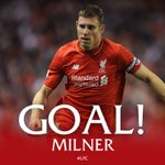 GOAL! James Milner converts the penalty! 1-0 to #LFC https://t.co/wDABBSuiOL