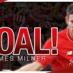 Gol James Milner! Liverpool 1-0 Swansea https://t.co/T6Czg8mUQg #LFC #LFCIndonesia https://t.co/oTZTM0P8Mh