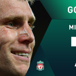 GOAL! Liverpool take the lead as James Milner scores from the penalty spot! #LFC #Swans https://t.co/TBdcKS2c8e https://t.co/tf99QOrSP3
