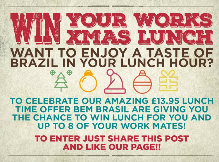 #Leeds would you like to win your works lunch?? Just RT to enter! https://t.co/MVZ3teEu43