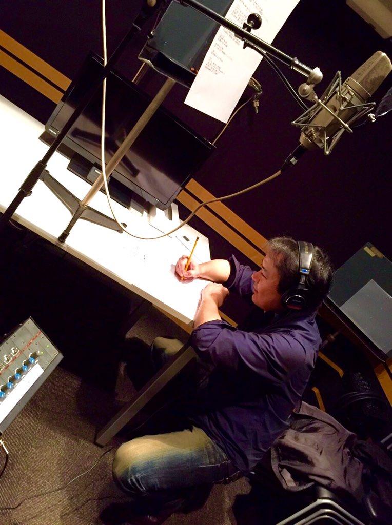 戦国BASARAの歌レコーディングしてました。今迄歌ってきた曲の中でも、かなりエッジの効いた感じです!