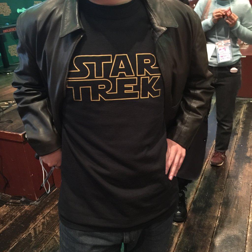 スタートレックのイベントでひどいTシャツを見ました(あさのってぃさん) https://t.co/MhkWA7ERWI