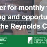 Training opportunities from the Reynolds Center delivered staight to your inbox https://t.co/FlwyW0Sh1q https://t.co/89MMUeYaRN