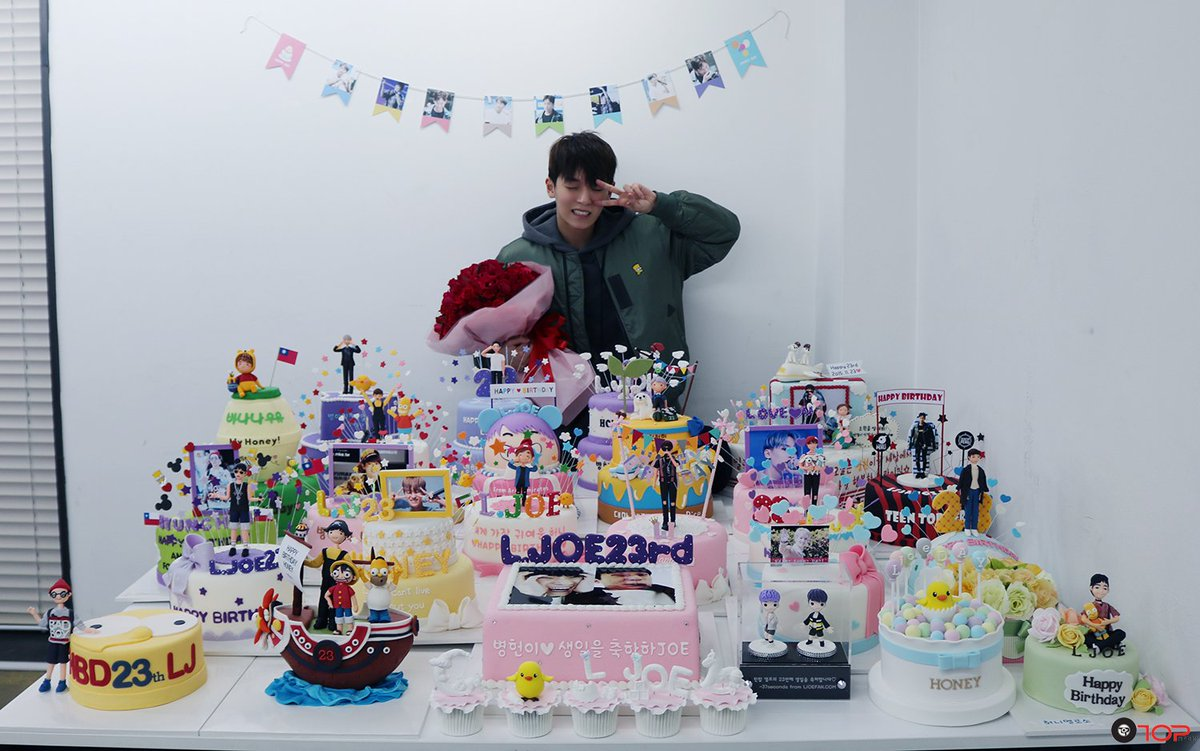 ♡1123♡ #엘조 의 생일을 축하합니다! HAPPY BIRTHDAY TO L.JOE ! #ByungHoney23rdDay #우리허니생일 https://t.co/KeBUfnrnAT
