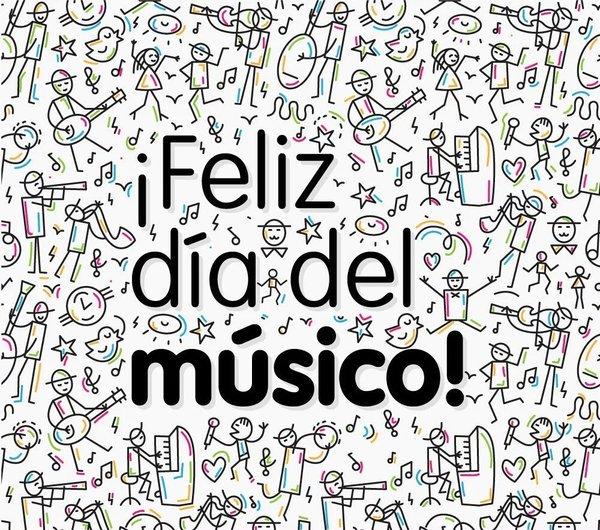 Los de Venezuela tocamos, cantamos y luchamos! feliz día a todos los músicos!!! #SoyMúsico #DiaDelMusico https://t.co/DjBY3U60Ho