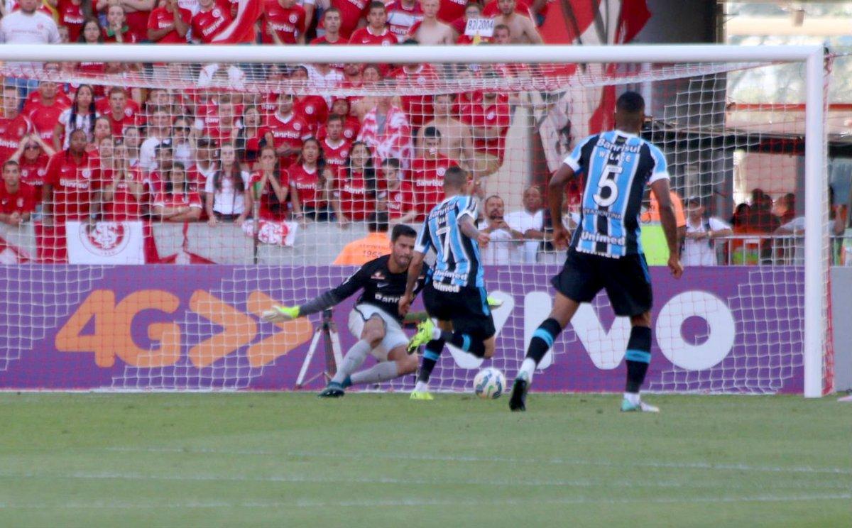 Grêmio é derrotado no clássico Gre-Nal 408