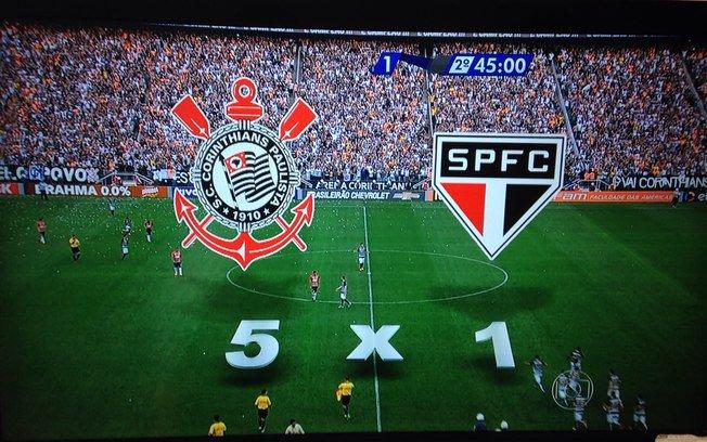 Perderam a conta: #Globo comete gafe em goleada histórica do @Corinthians https://t.co/J9zb6bD51t https://t.co/2B8dw7QVYM