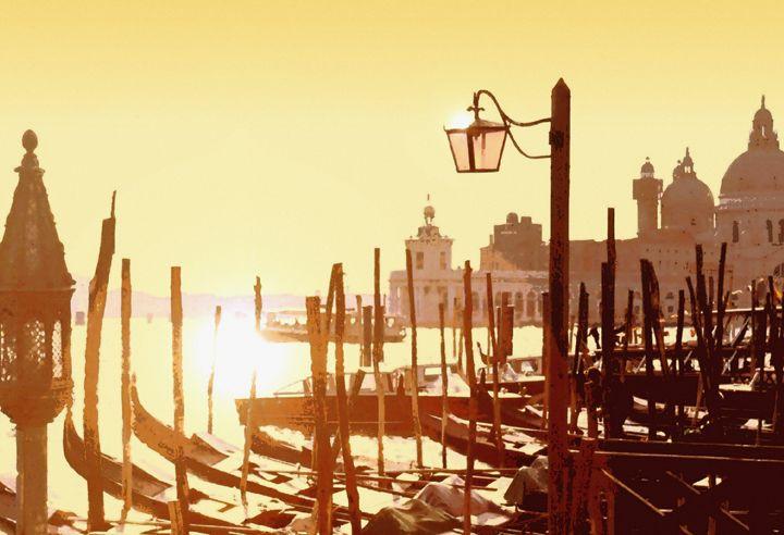 "New art ""Venetian Taxis"" added to gallery! View it, frame it, buy it, at: https://t.co/qrXBkZyFHh https://t.co/KZ0s9RwsEA"