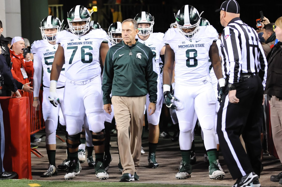 On this date in 2006: @MSU_Football hired @DantonioMark. #gooddecision https://t.co/cEWv5Txk5a