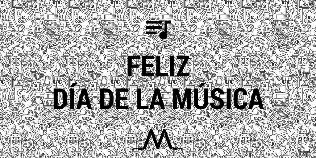 Porque la música es lo que nos hace seguir.. ¡¡#FelizDiaDeLaMusica a todos y mucha música más!!