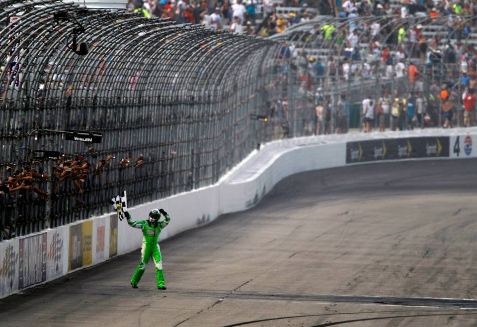 RETWEET to congratulate the 2015 #NASCAR champ and our July race winner, @KyleBusch! https://t.co/fof9Gyyvij