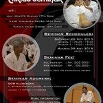 Aikido Martial Art Seminar w/ Jun Nomoto Shihan 7th Dan   28-29 Nov 15   Gor Klebengan Jogja -@ararrgh https://t.co/APS8U4Iy2e