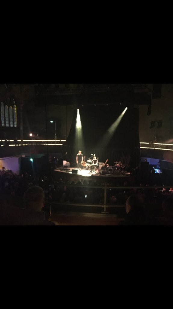 Last night was amazing supporting my little bro in Manchester!! Roll on Koko tonight @JohnNewmanMusic xxxx https://t.co/2Ei5mBI6li