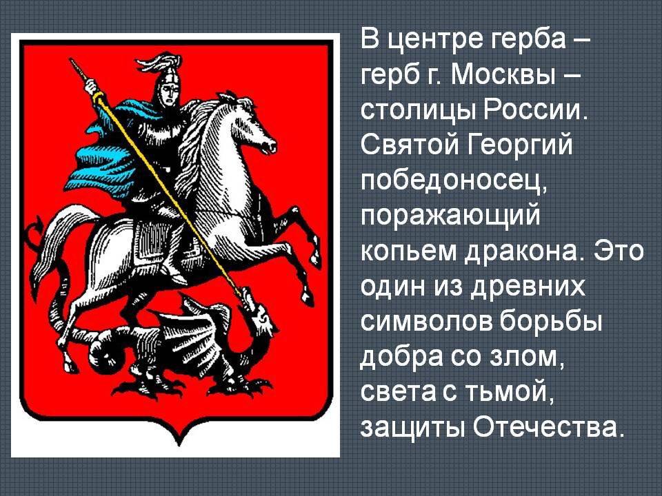 Доклад о гербе москвы