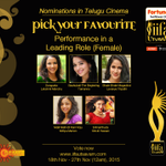 RT @GeminiTV: Who's Ur Fav Actress ?? #Passionate #Unique Have you #Missed any? #Maybe? Click https://t.co/D7Yc8GO1TR & Vote Now!! https://…