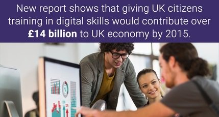 Teaching all adults Basic #DigitalSkills would save UK £14 bn in 10 years #digitaloptimism https://t.co/AGpI3Q8AgL https://t.co/Xojn3ELF0W