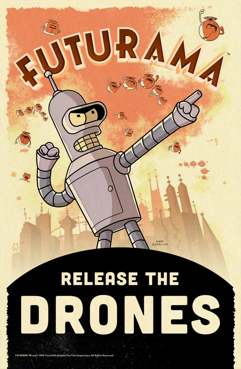 Good news, Twitter! We're excited to announce we're working on the development of a Futurama game. https://t.co/L1FabRiJRe