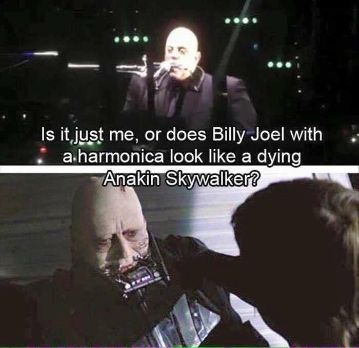 Meme of the Day #BillyJoel #StarWars https://t.co/fFAYz3Mdqa