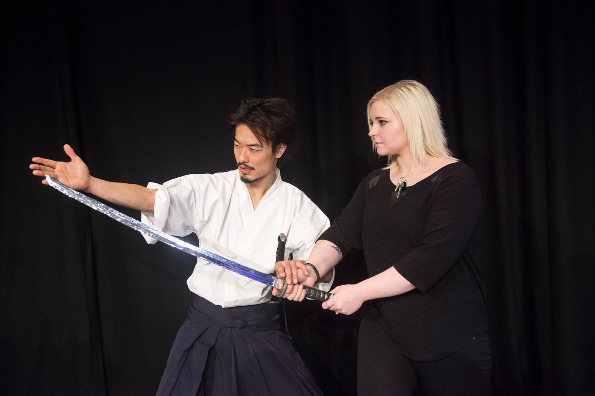 5 things we learnt at a Samurai sword masterclass ahead of Kuli Kala @StratfordCircus - https://t.co/VNZvVUXvoL https://t.co/I40xaDESwW