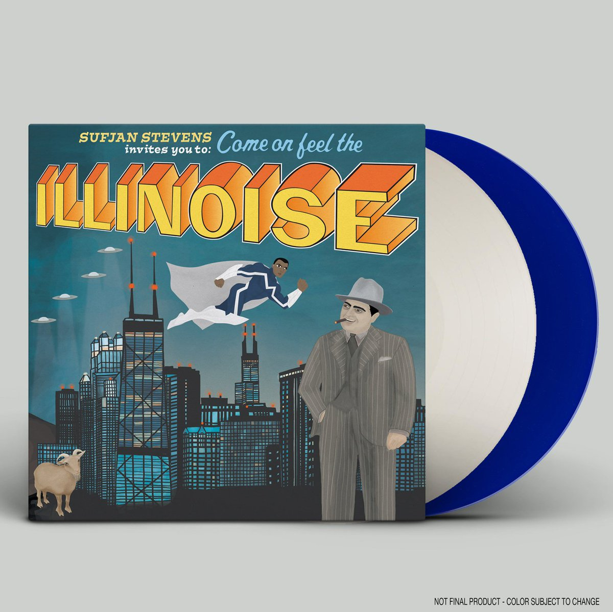 Just announced a 10th anniversary vinyl edition of Sufjan's Illinois. Hint: it has a special surprise from @Marvel https://t.co/gprDTdWKgU