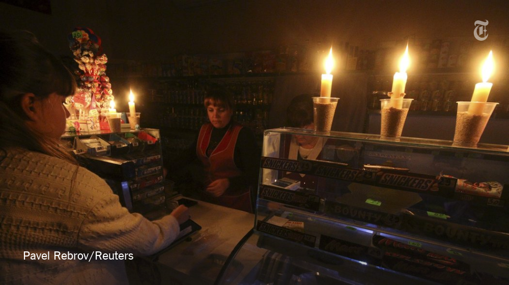 Millions are without power in Crimea, where authorities have declared a state of emergency