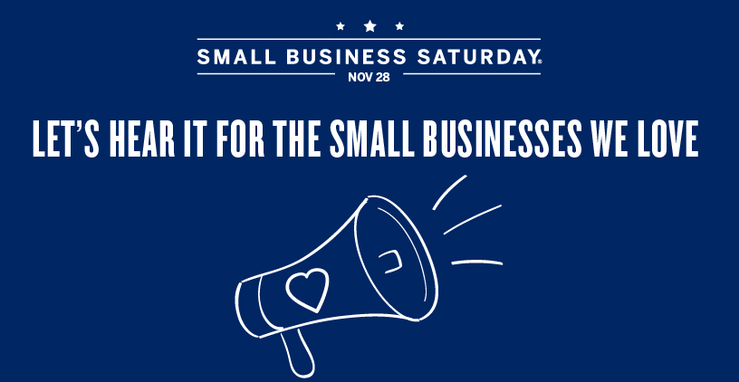 Don't forget to Support your local businesses this Saturday! #ShopSmall #SmallBizSat https://t.co/dvE50oWd0P