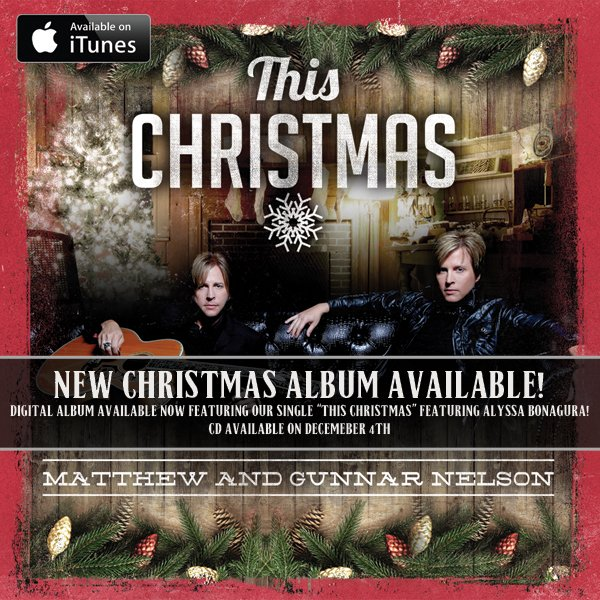 Make This Christmas one to remember with our first-ever Nelson Christmas album! Available NOW @iTunes/@amazonmusic! https://t.co/2DjV0ZJJZj