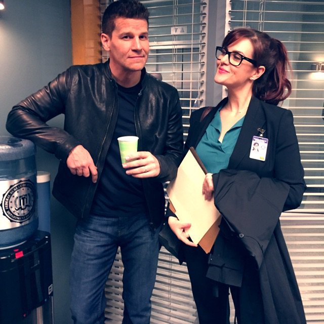 We are very serious FBI type people. Full on solving crimes and taking down the bad guys.  #Bones @David_Boreanaz https://t.co/68V7tcR7IW