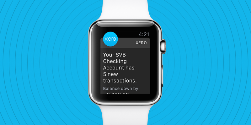 Checking your cash flow just became as easy as checking your #AppleWatch https://t.co/65f6ep545U https://t.co/SN7x2dYPj3