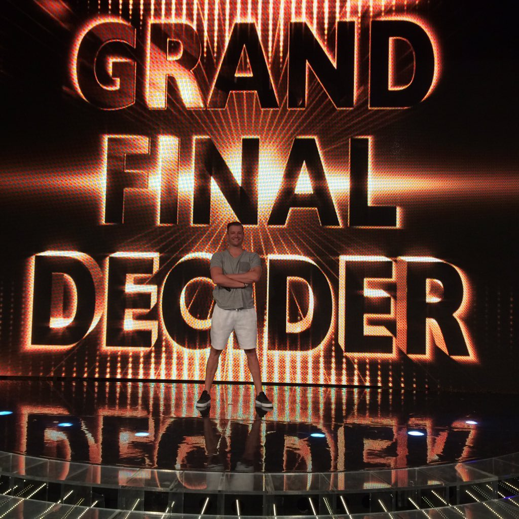 It's ALL HAPPENING TONIGHT! @xfactor_au GRANDFINAL TIME! Rehearsing with the best team there is. https://t.co/nCnqF9LQYd