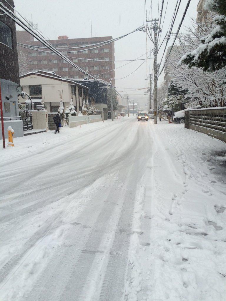 【今日の札幌】朝起きると雪。あわてて冬靴を出しました。 https://t.co/HJccVwbYb0