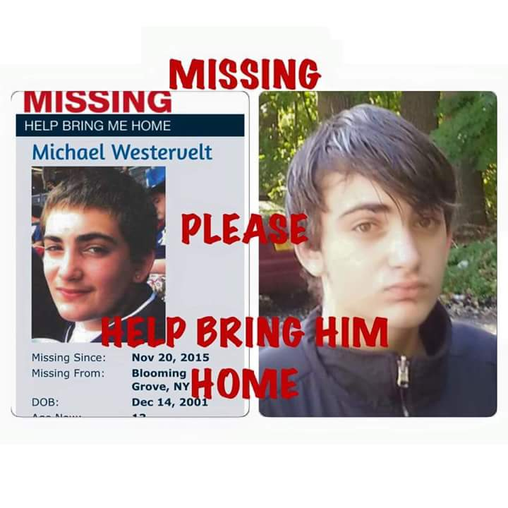 Please RT!!!!! My friends son has been missing since Friday and he doesn't have his medicine. https://t.co/E0FHbTOt4Y