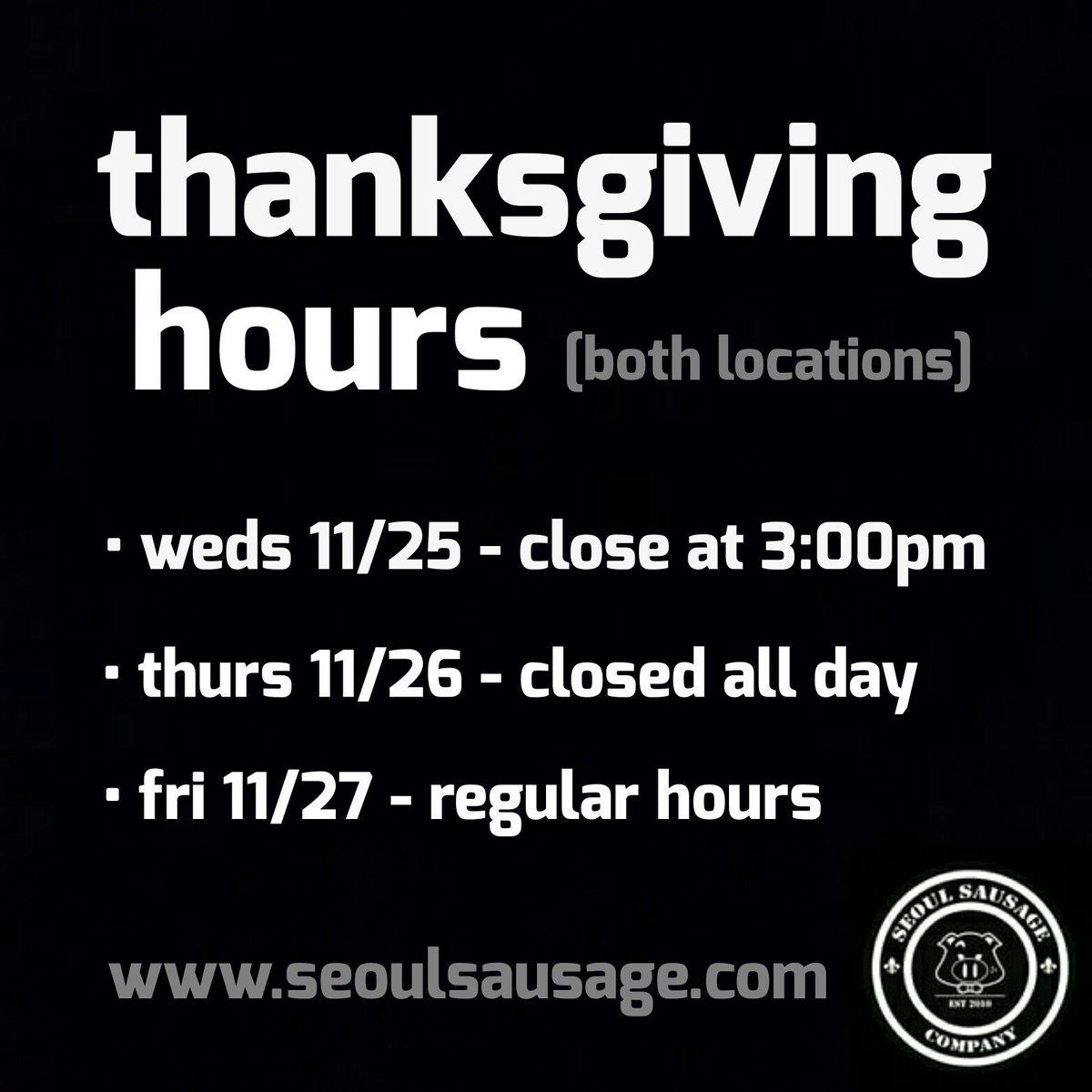 #Thanksgiving hours: https://t.co/XaZgiSKzIC