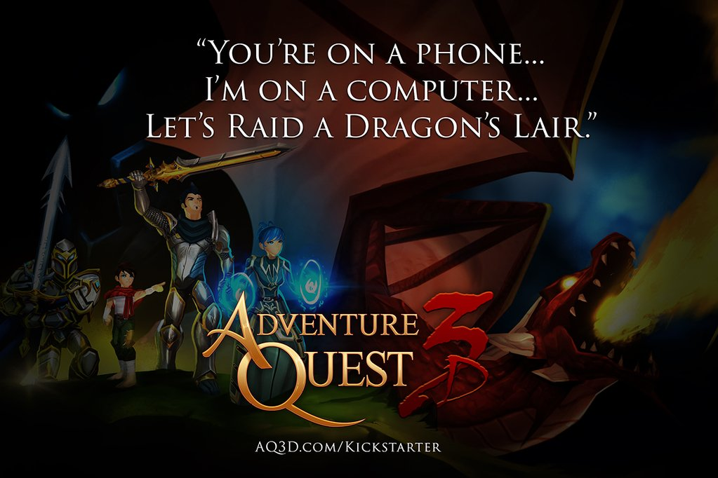 Retweet if you're a backer of the #AQ3D #Kickstarter! Loud and proud, heroes!   https://t.co/puNQY6JWqH https://t.co/jGhoBaPdHW