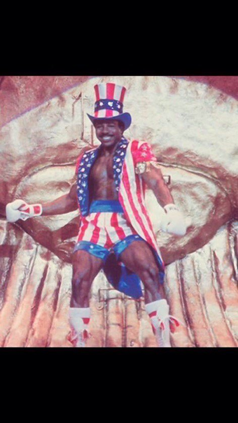 APOLLO CREED is dead. Long live CREED! #BePeace https://t.co/KcaleiobV2