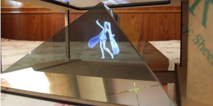 Голограмма своими руками в домашних условиях световая