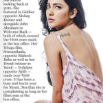 RT @Bazinga_Ent: A 100 cr year is what @shrutihaasan can call her films run in 2015! Read on further via @mid_day today https://t.co/aMzL2v…
