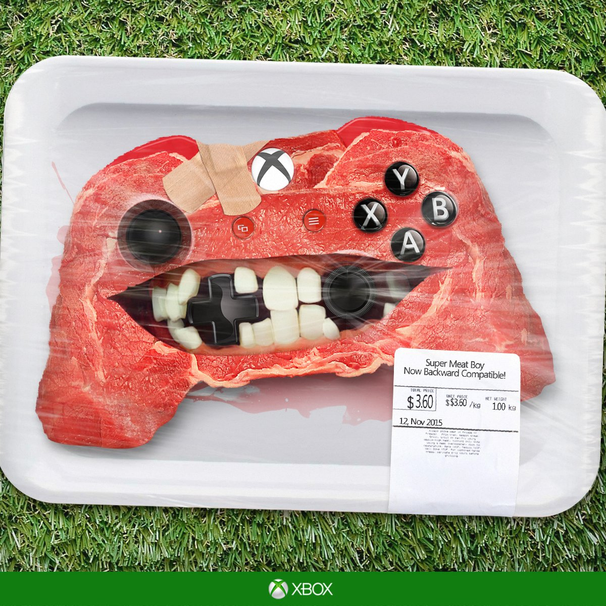 Fire up the Xbox One and Play Super Meat Boy [M] & 100+ other games now on your Xbox One https://t.co/ivps25Uu8w https://t.co/gSV5X7s4Di