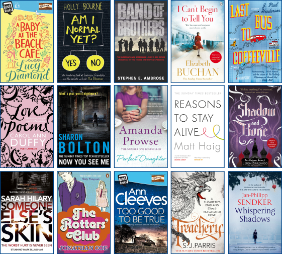 We're delighted to announce our 15 titles for for #WorldBookNight 2016! Get involved https://t.co/AcGoOcpSd8 https://t.co/7uWHPY5ess