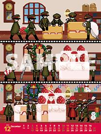 【フリーゲームカレンダー】12月担当「獄都事変」のサンプルイラストを公開しました♪ → https://t.co/l7tEagbLxi https://t.co/ErVInpfbo5