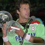 Happy Birthday to Pakistans World Cup winning captain @ImranKhanPTI! WATCH: https://t.co/RIDTbtwSBh https://t.co/Uvc1xdaf0K