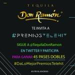¡Muy pendiente de la dinámica! #DaLoMejorPremiosTelehit #TequilaDonRamon https://t.co/sWMZLQZ52T