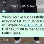@K_ToOzle @MTNza Whoop Whoop #Lit is my mtn namba callertunez. Dial *123*50# 2activate urs ???? https://t.co/XEUFyhCazJ