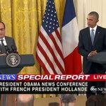 French President Hollande: President Obama was the first to call me after Paris attacks https://t.co/GE1MvaFnje https://t.co/q8Bsm8WM95