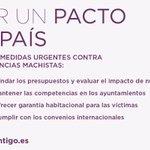 Hoy proponemos un Pacto de País contra las violencias machistas @Klaruskaya @VickyRosell https://t.co/BLn79qnLvz https://t.co/kQ7thWhuj7