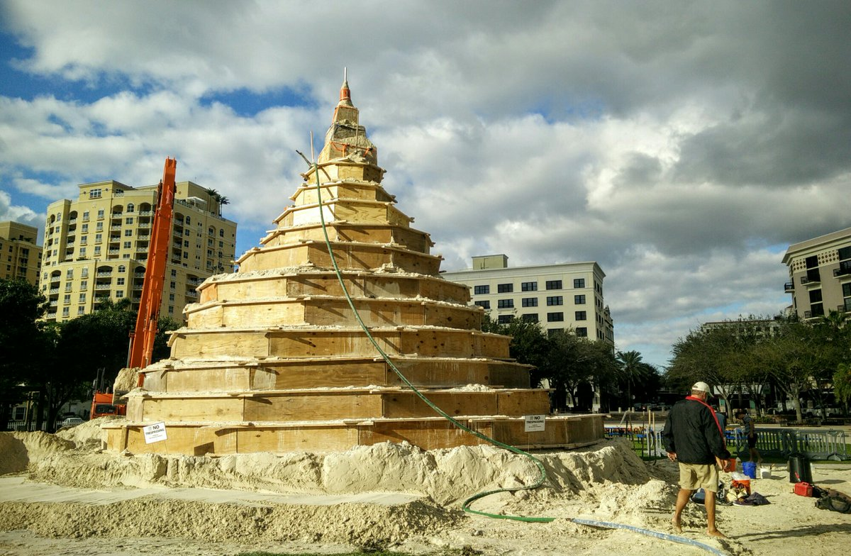 The sculpting of @SandiTreeWPB starts today! #ilovewpb - https://t.co/FDpmBhNS6O https://t.co/DaK5hfmzqh