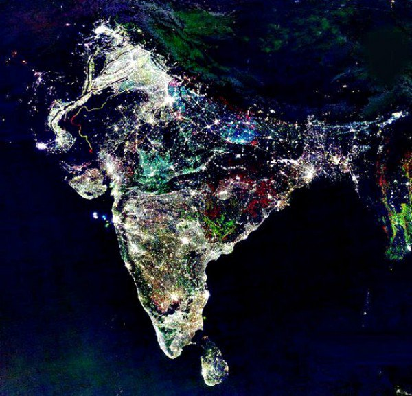 Image by NASA showing growing intolerance as seen from space. https://t.co/BQ0BBJi22S