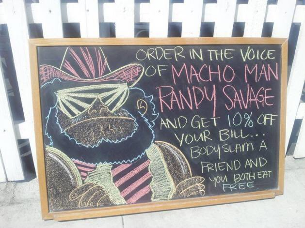 This might be the best incentive for a restaurant discount EVER. #oooohyeah #marketing #wwe (via @uberhumor) https://t.co/FaxpqILc9P