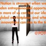 Our Nation is strongest when we broaden entrepreneurial opportunity... @POTUS #EntrepreneurshipMonth https://t.co/JTKWAB3KDv
